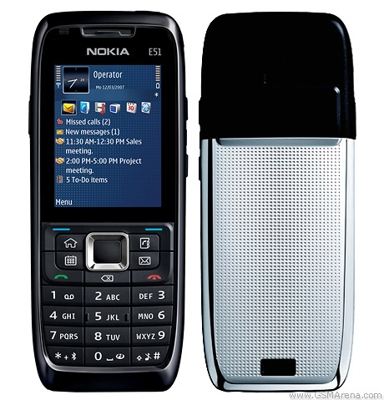 Nokia E51 en Movistar México