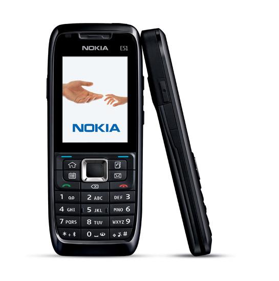 Nokia E51 en Movistar México color negro