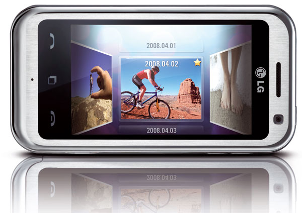 LG Arena km900 pantalla touch