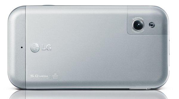 LG Arena km900 cámara posterior con flash