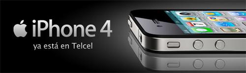 iPhone 4 ya está en México con Telcel y Movistar