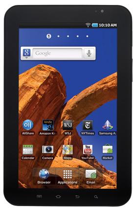 Samsung Galaxy Tab WiFi P1010 pronto en México