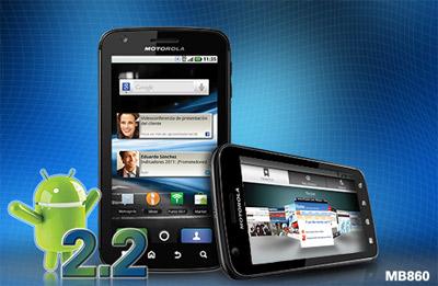 Motorola Atrix ya a la venta en México con Telcel