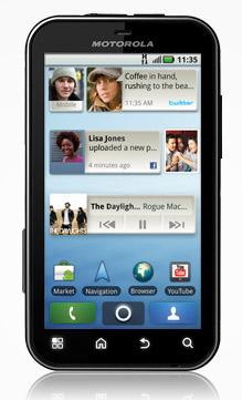 Motorola DEFY ya disponible en Telcel