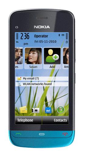 Nokia C5-03 ya a la venta en México