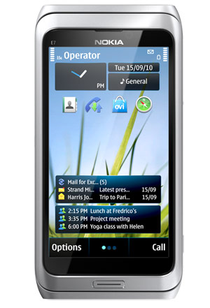 Nokia E7 con Video HD y HDMI pronto en México