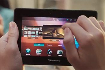 Video comercial oficial de la PlayBook