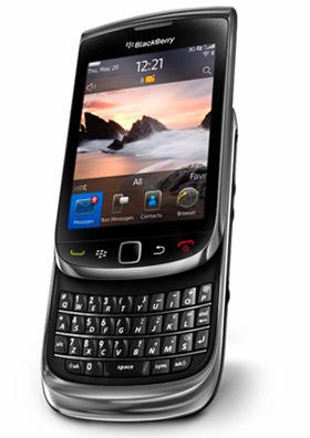 BlackBerry Torch ya en Iusacell teclado pantalla