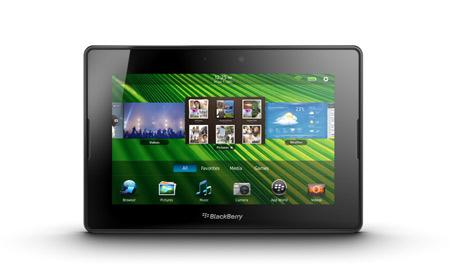 blackberry playbook en México pantalla de 7 pulgadas