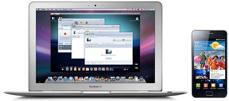 Samsung KIES para Mac disponible en México