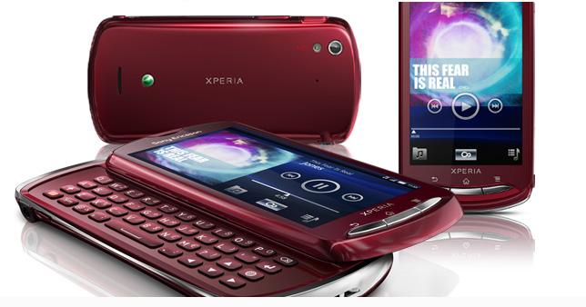 Xperia Pro color rojo