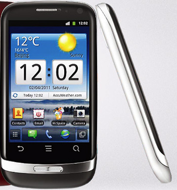 Huawei Blaze con Android 2.3 en México con Iusacell