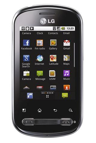 LG Optimus ME en Iusacell