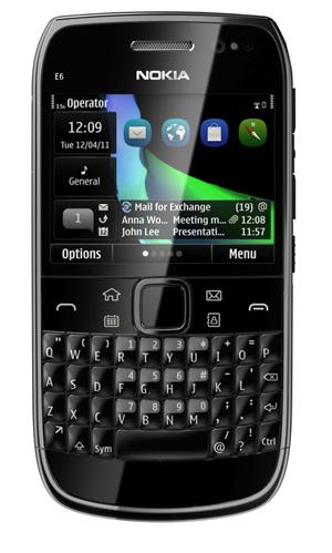 Nokia E6  ya en México con Telcel y Movistar
