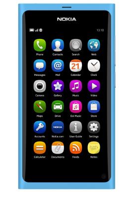 Nokia N9 con MeeGoo