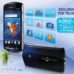 Sony Ericsson Xperia Neo ya en México con Telcel