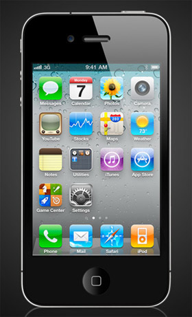 Apple iPhone 4 México negro
