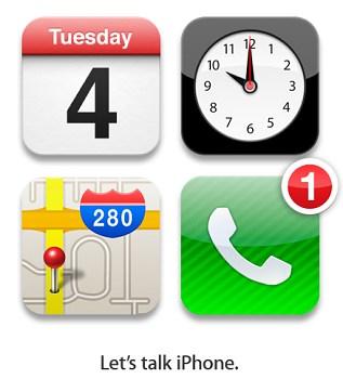 Iphone 5 llega el 4 de octubre se confirma