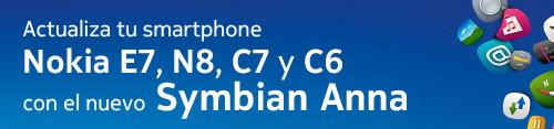 Llega Symbian Anna para Nokia E7, N8, C7 y C6