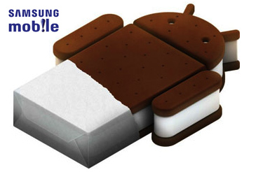 Samsung Android ice cream sandwich