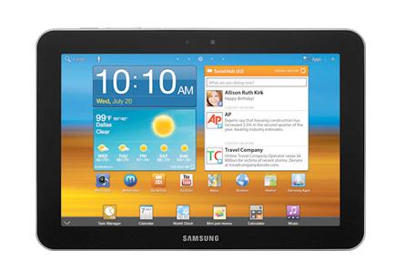 Samsung Galaxy Tab 8.9 3G en Telcel