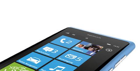 Nokia 800 oficial azul