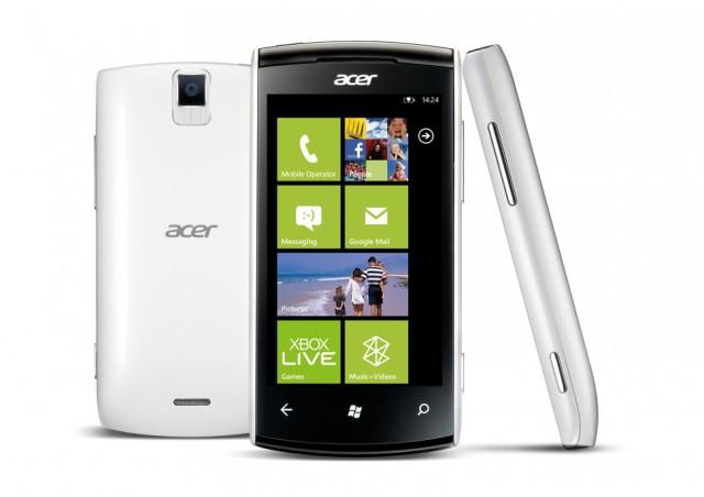 Acer Allegro con Windows Phone
