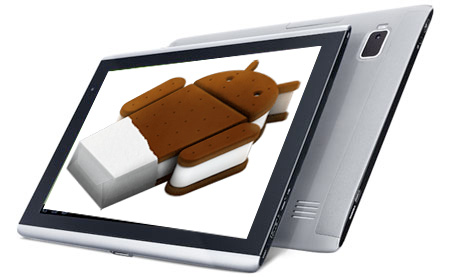 Acer A500 con Ice Cream Sandwich