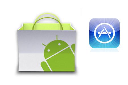 Android Market vs Apple IOS APP Store