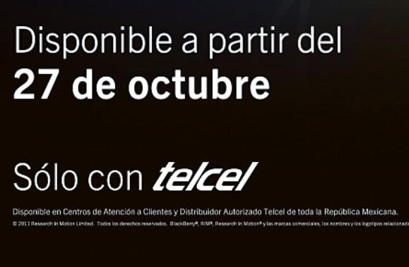 BlackBerry 9900 en Telcel México