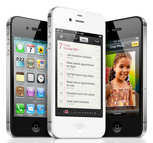 iPhone 4S con Dual-core A5 Chip