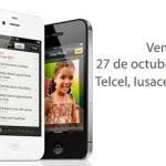iPhone 4S hoy se vende en México en Telcel, Iusacell y Movistar,  gratis en algunos planes