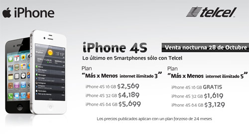iphone gratis en plan