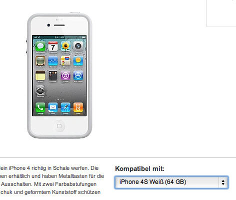 Confirman iPhone 4S con 64 GB