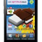 LG Optimus 2X, 3D y Black recibirán actualización a Android Ice Cream Sandwich