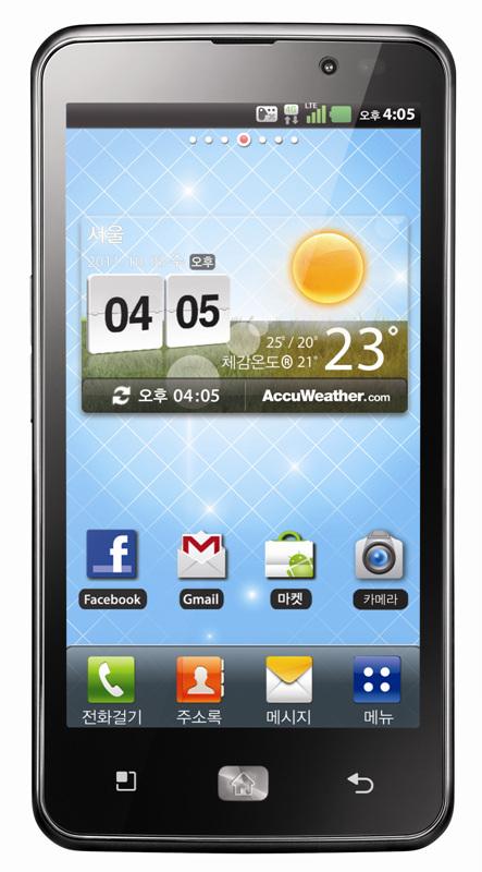 LG anuncia el Optimus LTE 4G