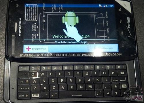 Motorola Droid 4 primeras imágenes