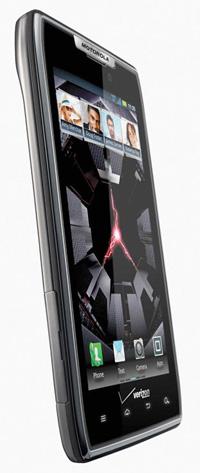Motorola DROID RAZR el más delgado