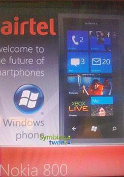 Nokia 800 con Windows Phone se confirma el nombre