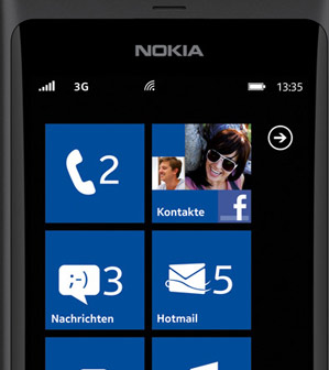 Nokia 800 Windows Phone 7