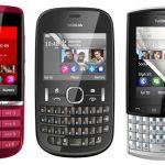 Nokia anuncia sus Asha 200, 201, 300 y 303 oficialmente