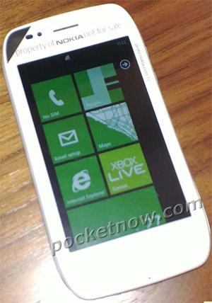Nokia Sabre con Windows Phone Mango