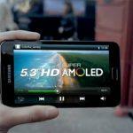 Samsung Galaxy Note primer comercial y la súper pantalla de 5.3 pulgadas