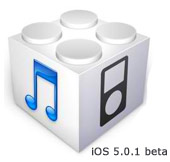 iOS 5.0.1 beta actualización
