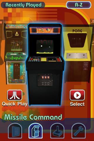 Atari App Atari's Greatest Hits