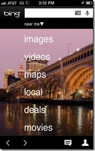 Bing llega a Android y al iPhone (iOS)