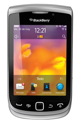 BlackBerry Torch 2 9810 Iusacell