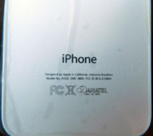 El iPhone 4 hecho en Brasil se filtran imágenes