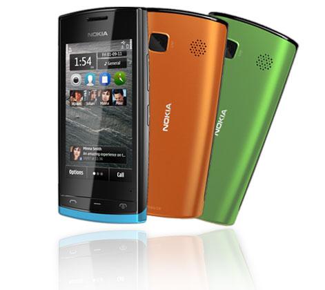 Nokia 500 en México con Telcel