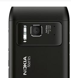 Nokia N8 cámara